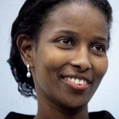 Ayaan Hirsi Ali, autorka i działaczka na rzecz praw człowieka.