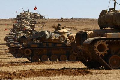 Ofensywa turecka w Syrii