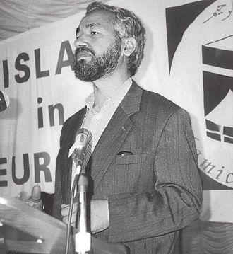 Usunięcie od władzy islamistycznej partii Tunezji, Ennahda, powitali z aprobatą nie tylko Tunezyjczycy, ale wielu Arabów, którzy oskarżają islamistów, szczególnie organizację Bractwo Muzułmańskie, o szerzenie chaosu i niestabilności w świecie arabskim. Na zdjęciu: speaker Zgromadzenia Reprezentantów i przewodniczący partii Ennahda, Rached Ghannouchi. (Zdjęcie: Wikipedia)