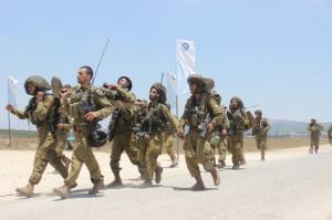 Szkolenie druzyjskiego batalionu Herev Zdjęcie: IDF.