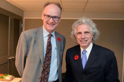 Debata Munk, Toronto, 6 listopada 2015<br />Optymiści - Matt Ridley i Steven Pinker<br /><br />