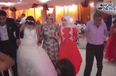 21 sierpnia terroryści z ISIS użyli dziecka zamachowca-samobójcy, żeby zabić ponad 50 ludzi, w większości dzieci, na ślubie w Gaziantep. (Zdjęcie: zrzut z ekranu z ABC News)