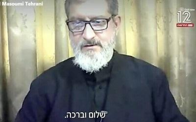 Abdol-Hamid Masoumi-Tehrani(Zrzut z ekranu).