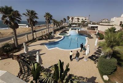 To także jest Gaza: hotel Al-Masztal kilka lat temu [Zdjęcie: Reuters