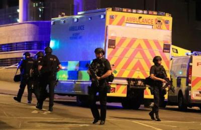 Manchester po zamachu.