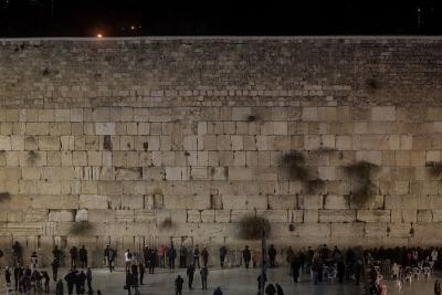 Wizyta prezydenta USA Donalda Trumpa przy Ścianie Zachodniej w Izraelu była najbardziej symbolicznym momentem podczas jego niedawnej wizyty na Bliskim Wschodzie. (Zdjęcie: Chris McGrath/Getty Images)