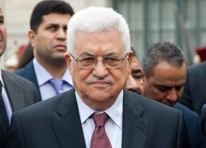 Mahmoud Abbas (zdjęcie: Olivier Pacteau via Flickr Creative Commons)