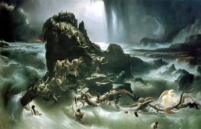 Obraz francuskiego malarza Francisa Danby.