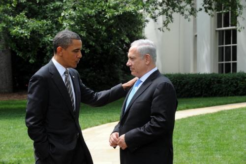 Premier Izraela Netanjahu spotyka prezydenta Obamę w Białym Domu, 20 maj 2011 r. (Zdjęcie: Israel PM office)
