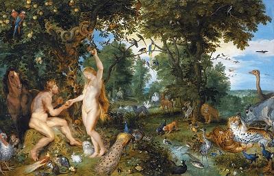 """""""Grzech pierworodny"""" Jan Brueghel Starszy iPeter Paul Rubens(Źródło: Wikipedia)"""