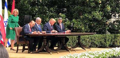 Podpisywanie Porozumienia Abrahamowego – 15 września 2020