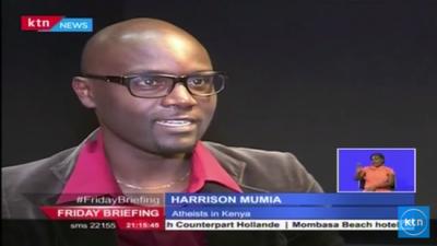 Harrison Mumia, przewodniczący Stowarzyszenia Ateistów w Kenii.