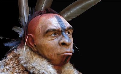 Nowoczesne rekonstrukcje neandertalczyków wyglądają mniej jak karykatury, a bardziej jak ta rekonstrukcja neandertalczyka: Fabio Fogliazza/Human Evolution Museum (MEH)-Junta de Castilla y León (Hiszpania)