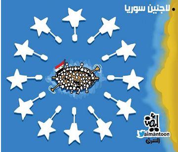 """Unia Europejska oblegana przez """"uchodźców z Syrii\"""