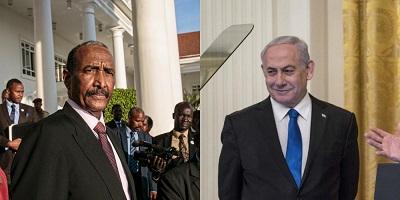 Stojący na czele sudańskiej Rady Niepodległości Abdel Fattah al-Burhan spotkał się z Benjaminem Netanjahu już w lutym 2020r.