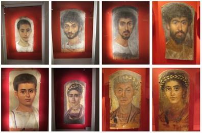 Jak mógł wyglądać Jezus? Fotografa wtedy nie było, Żydzi malarstwa nie uprawiali, w sąsiednim Egipcie kwitła niezwykle ralistyczna sztuka malowania portretów na sarkofagach. W tak zwanej oazie fayumskiej znaleziono sarkofagi z początków naszej ery, pokazujące twarze zmarłych z tego regionu.