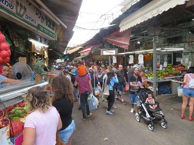 Na targu w Tel Awiwie