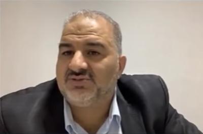 Mansour Abbas (Wideo youtube, zrzut z ekranu)