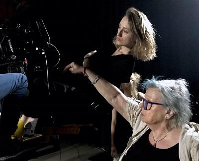 """Prof. Elżbieta Protakiewicz: """"TVP to instytuacja, która zjada własny ogon...""""; FOTO: Archiwum Państwowej Wyższej Szkoły Filmowej, Telewizyjnej i Teatralnej w Łodzi."""