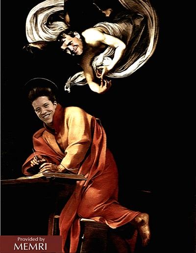 Rys. 9: Cyfrowo zmodyfikowany obraz Caravaggio \