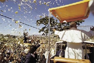 Jan Paweł II w Brazylii 1980r.