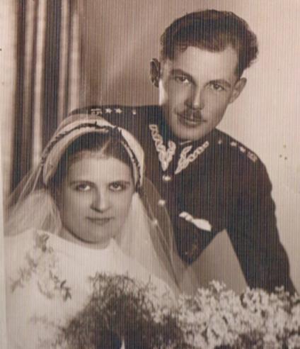 My parents 1936.