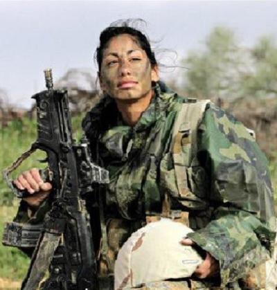 Elinor Joseph, chrześcijanka z arabskiej wioski Jish, żołnierka IDF– Zdjęcie: Israel and Staff.com