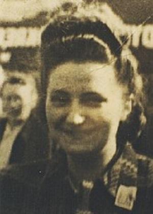 Święta Faustyna, jako osiemnastoletnia Helena Kowalska, kiedy jeszcze nic jej nie było.