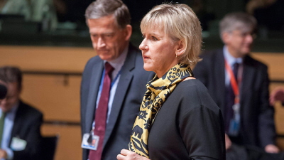"""Szwedzka minister spraw zagranicznych, Margot Wallström. Wiąże terror w Paryżu z """"desperacją palestyńską"""" (Zdjęcie: EPA)"""