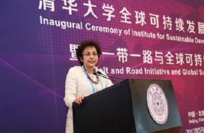 Irene Khan w Pekinie.