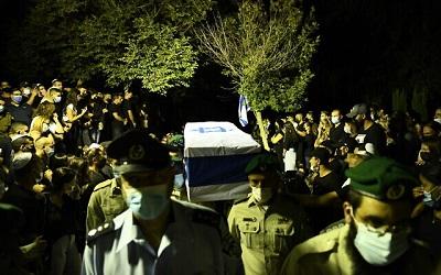 Pogrzeb sierżanta Barela Hadarii Shmueliego.