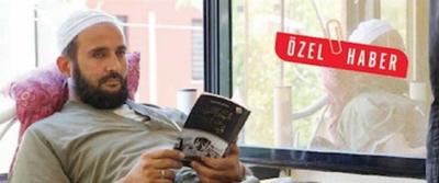 """Dżihadysta-rekonwalescent w """"szpitalu dżihadystycznym"""" w Gaziantep. """"Birgun"""", 22 wrzesnia 2015"""