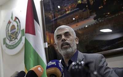"""Jahija Sinvar:""""Jeśli respiratory nie zostaną dostarczone [do Gazy] – wrzeszczał – to weźmiemy je siłą z Izraela i zatrzymamy oddech sześciu milionów Izraelczyków""""."""