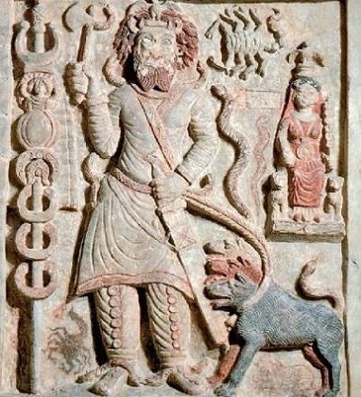 Nergal, sumeryjski bóg zniszczenia i wojny.