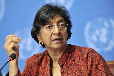 <span>Południowoafrykańska prawniczka Navi Pillay</span>