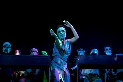 <span>Dementia Tremens spektakl, październik 2020, Paryż : foto Michael Bunel © Theatre Elizabeth Czerczuk.</span>