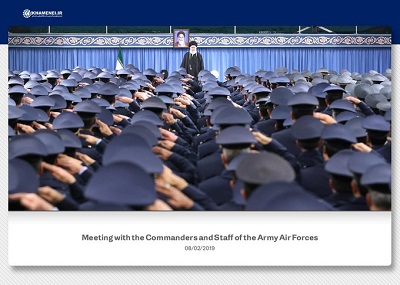 Zrzut z ekranu Twitter @khamenei_ir