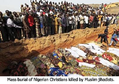 Masowa rzeź chrześcijan w Nigerii, którą kilku międzynarodowych obserwatorów nazwało ludobójstwem, sięga coraz wyższych poziomów. Na zdjęciu: Auno w Nigerii 10 lutego 2020 roku po ataku poprzedniego dnia, w którym dżihadyści zamordowali co najmniej 30 ludzi i uprowadzili kobiety i dzieci.