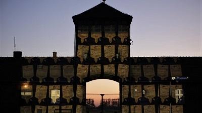 Muzeum Auschwitz-Birkenau, bez uczestników w dorocznym Marszu Żywych w Jom HaSzoa, 20-21 kwietnia 2020. Zdjęcie: Marcin Kozłowski, March of the Living.