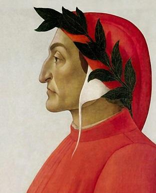 Portret Dantego pędzlaBotticellego (Wikipedia)