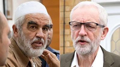 """Raed Salah, imam z Izraele, """"autorytet"""" Jeremy Corbyna mówił:""""Ktokolwiek chce więcej wyjaśnień, niech zapyta, co zdarzyło się niektórym dzieciom w Europie, których krew była mieszana w cieście na [żydowski] święty chleb. Wielki Boże, czy to jest religia?..."""""""