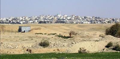 <span>Miasto Ararat an-Nakab, które Izrael zbudował dla beduińskiej społeczności.</span>